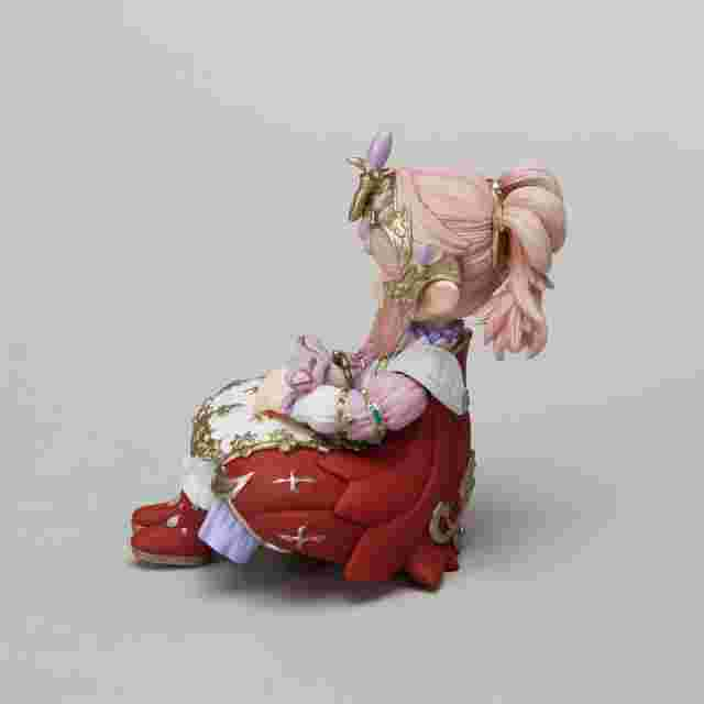 Screenshot for the game FINAL FANTASY XIV Mascot Figure - Seated Nanamo