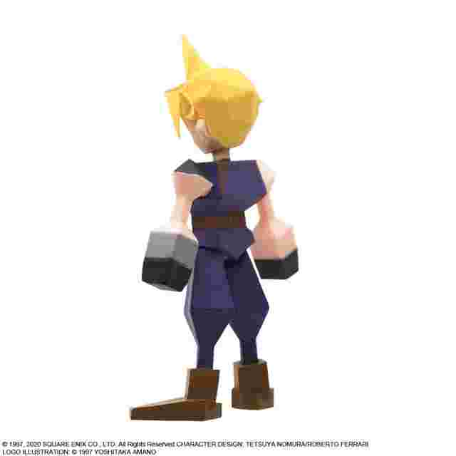 Screenshot for the game FINAL FANTASY VII Polygon Figure Display (Blind Box of 8) [FIGURINE]
