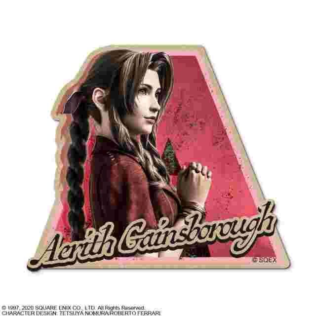 Captura de pantalla del juego FINAL FANTASY VII REMAKE CHARACTER STICKER- AERITH GAINSBOROUGH