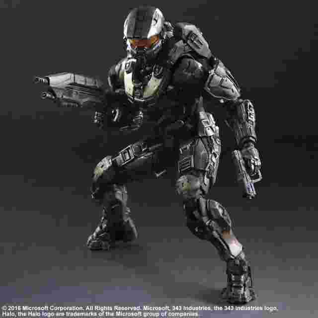 Capture d'écran du jeu Figurine Halo 5 Guardians PLAY ARTS KAI [Master Chief]