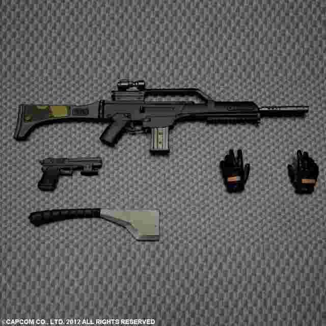 Capture d'écran du jeu FIGURINE RESIDENT EVIL RACCOON CITY PLAY ARTS KAI - [LUPO]