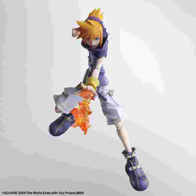Screenshot for the game The World Ends with You The Animation BRING ARTS™ Action Figure - NEKU SAKURABA [ACTION FIGURE]