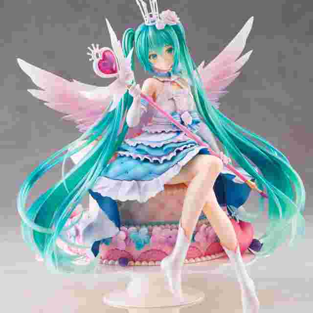 Screenshot for the game Spiritale Hatsune Miku Birthday 2020~Sweet Angel ver. by TAITO 1/7 scale [FIGURINE]
