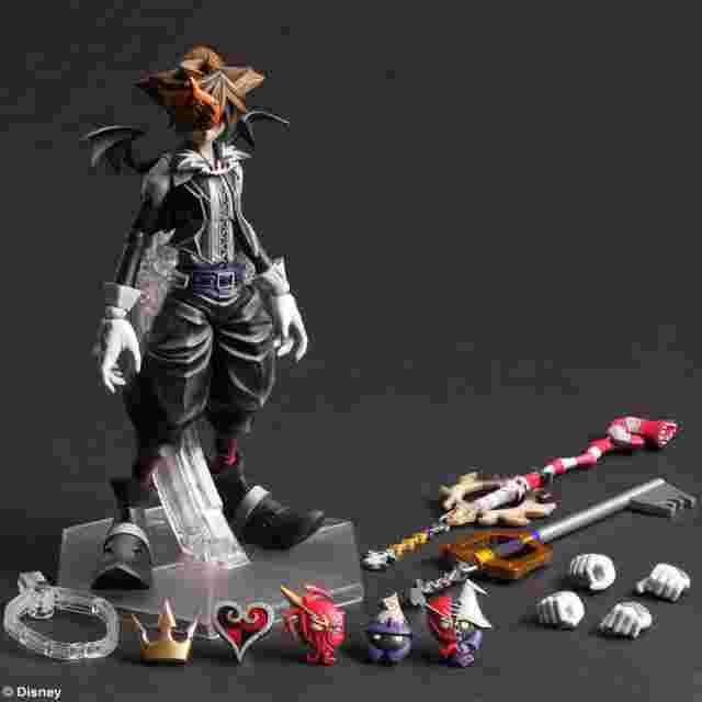 Capture d'écran du jeu KINGDOM HEARTS II PLAY ARTS KAI - Sora -Halloween Town Version