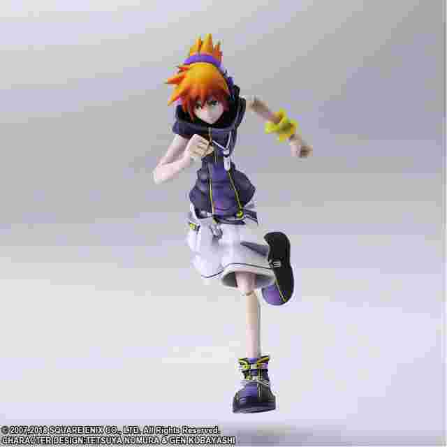 Screenshot for the game THE WORLD ENDS WITH YOU™: FINAL REMIX BRING ARTS NEKU SAKURABA [ACTION FIGURE]