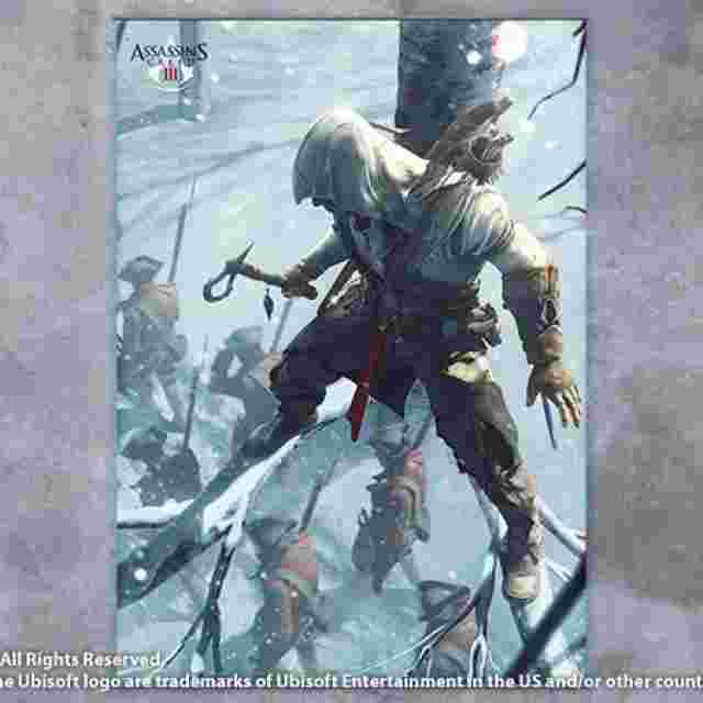 Screenshot for the game ASSASSIN´S CREED III [Wall Scroll Vol.2]