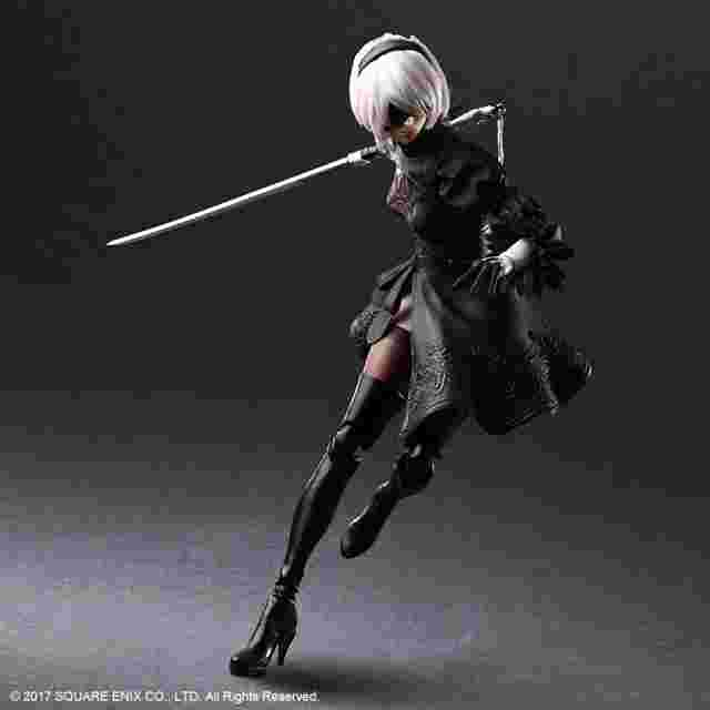 Screenshot for the game NieR:Automata® PLAY ARTS KAI™ Action Figure - 2B (YoRHa No. 2 Type B) [Action Figure]