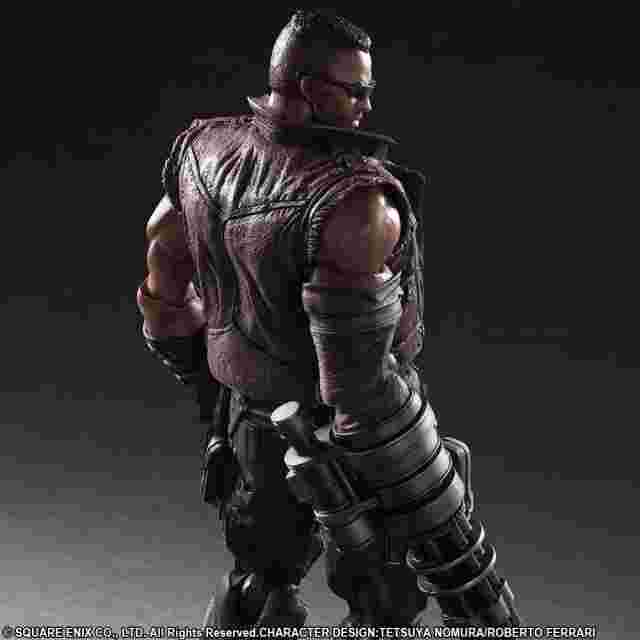 Capture d'écran du jeu FINAL FANTASY VII REMAKE PLAY ARTS -KAI- No.2 BARRET WALLACE