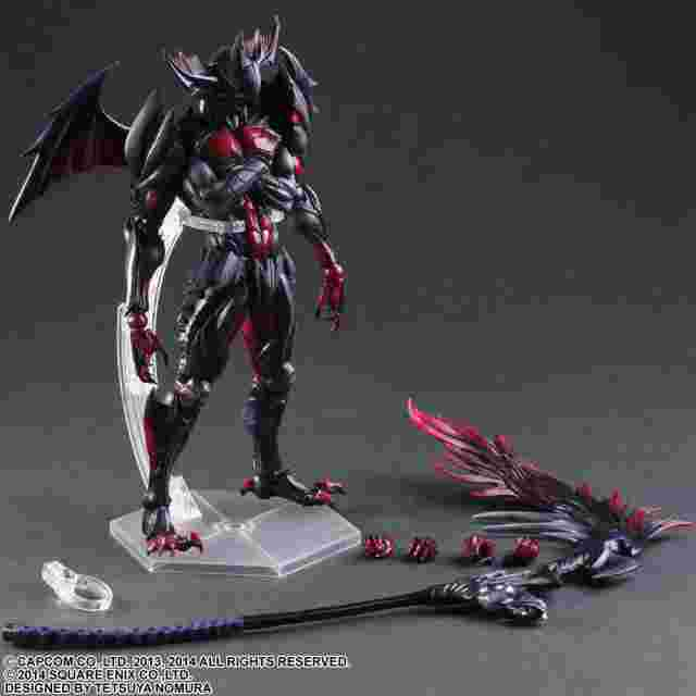 Captura de pantalla del juego Monster Hunter 4 Ultimate Play Arts Kai [Diablos Armor]
