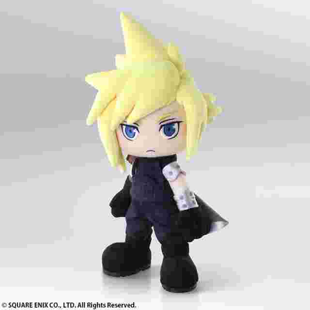 Captura de pantalla del juego FINAL FANTASY VII Action Doll - Cloud Strife
