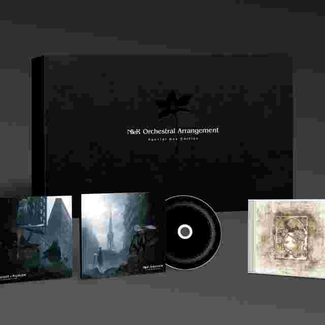 Screenshot for the game NieR Orchestral Arrangement Special Box Edition