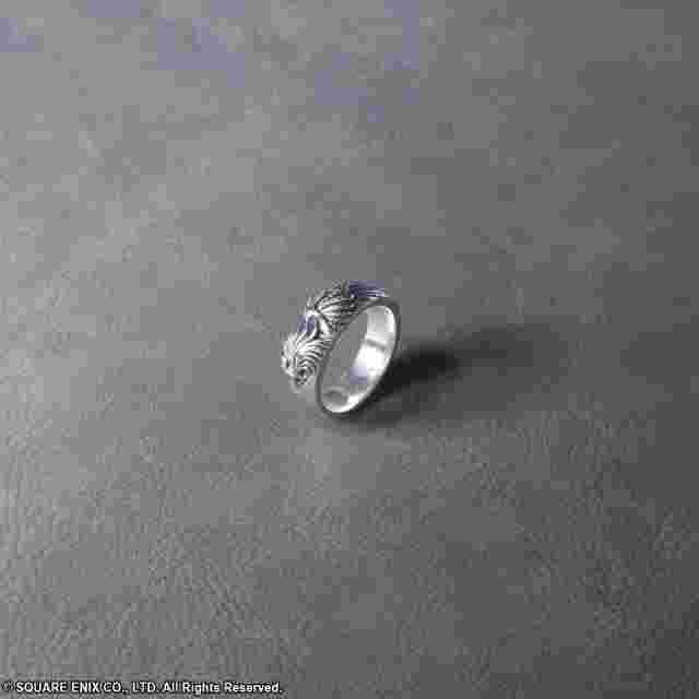 Screenshot for the game FINAL FANTASY® VIII SILVER RING SLEEPING LION HEART -SIZE 10.5- [JEWELRY]