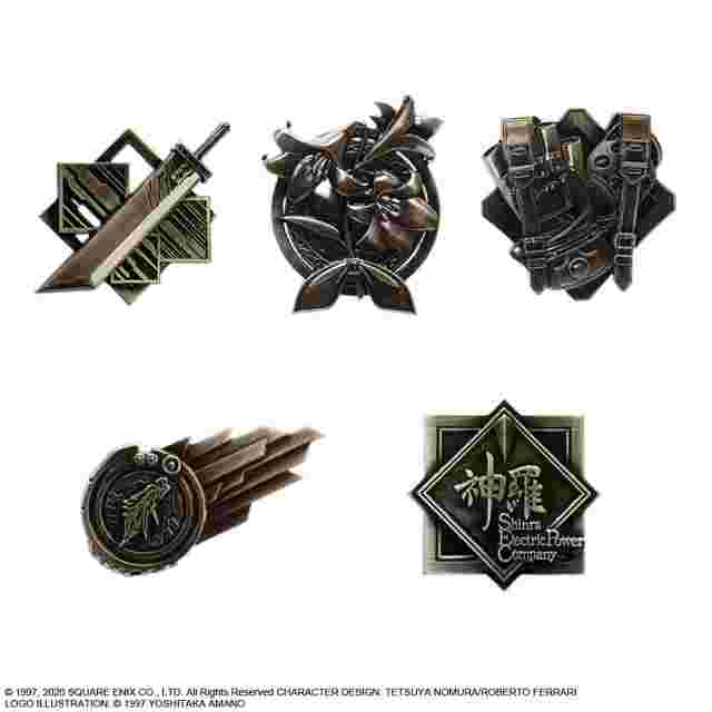 Captura de pantalla del juego FINAL FANTASY VII REMAKE PIN BADGE - SET OF 10 BOX VERSION