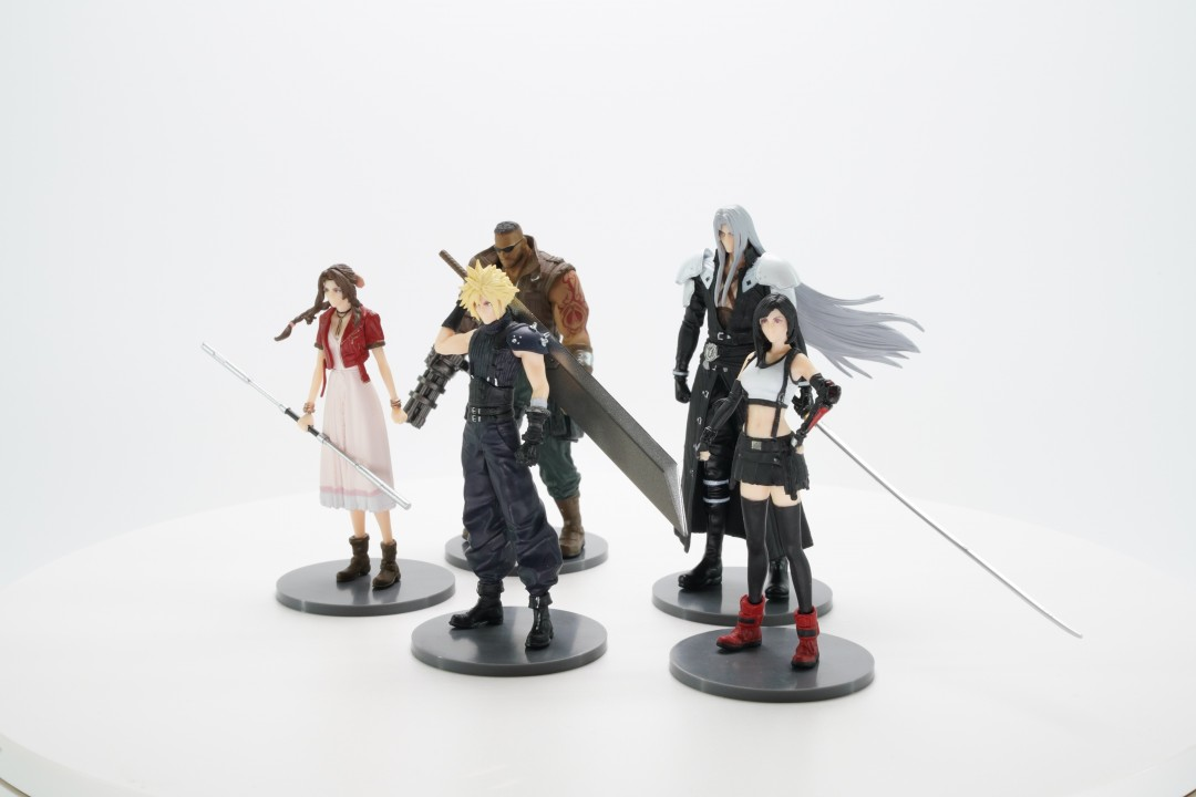 Brand New Final Fantasy VII Remake FF7 Figure Trading Arts Boxed You choose :