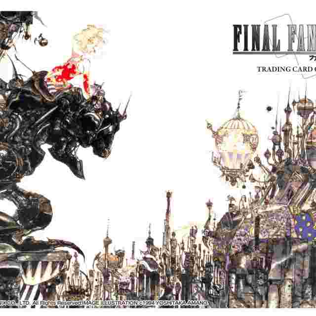 Screenshot for the game FINAL FANTASY TRADING CARD GAME PLAYMAT: FINAL FANTASY VI TERRA [FFTCG]