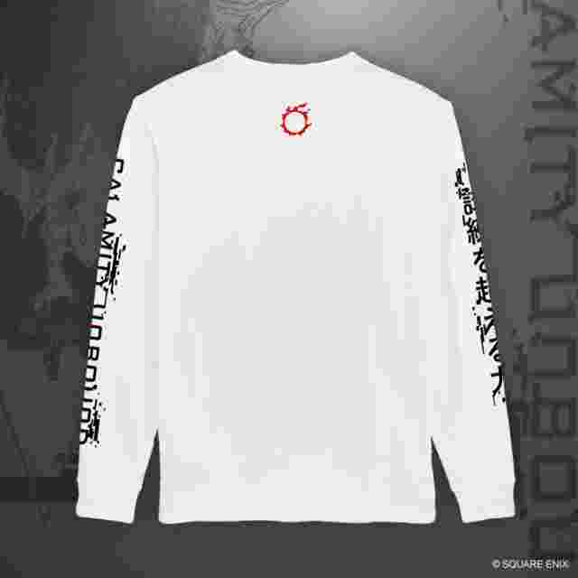 "Screenshot for the game FINAL FANTASY XIV ""BAHAMUT – CALAMITY UNBOUND"" LONG SLEEVE T-SHIRT - L"