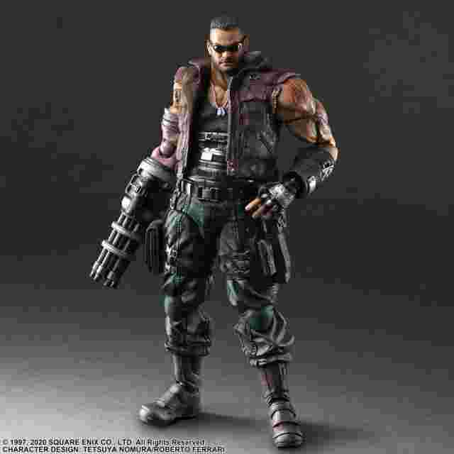 cattura di schermo del gioco FINAL FANTASY VII REMAKE PLAY ARTS KAI ACTION FIGURE - BARRET WALLACE VER. 2