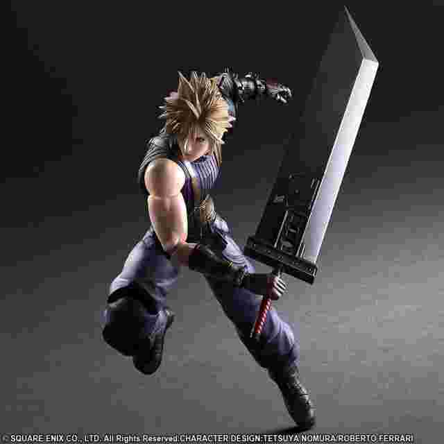 Screenshot for the game FINAL FANTASY® VII REMAKE PLAY ARTS -KAI- CLOUD STRIFE (Limited Color Ver.)