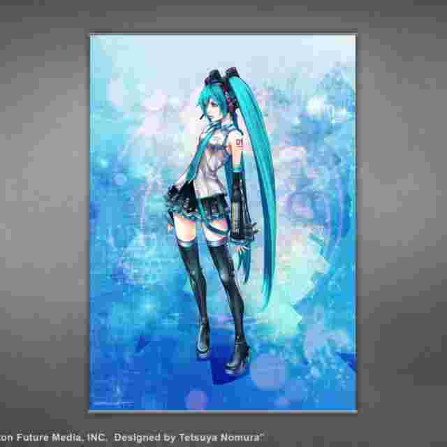 Screenshot des Spiels HATSUNE MIKU [Wall Scroll Poster]