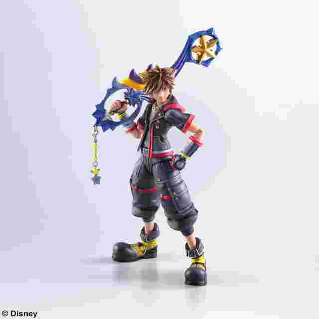 Screenshot for the game KINGDOM HEARTS III BRING ARTS - Sora