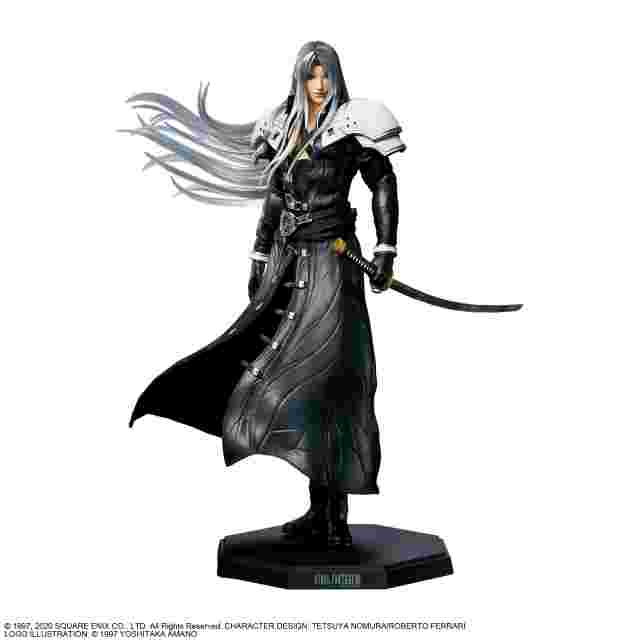 Screenshot for the game FINAL FANTASY VII REMAKE STATUETTE - SEPHIROTH