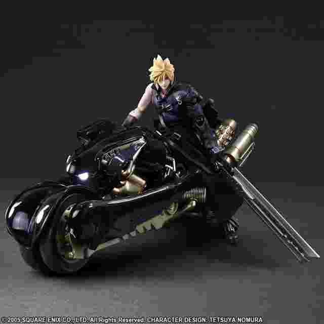 Screenshot for the game FINAL FANTASY VII ADVENT CHILDREN PLAY ARTS -KAI- Cloud Strife & Fenrir [ACTION FIGURE]