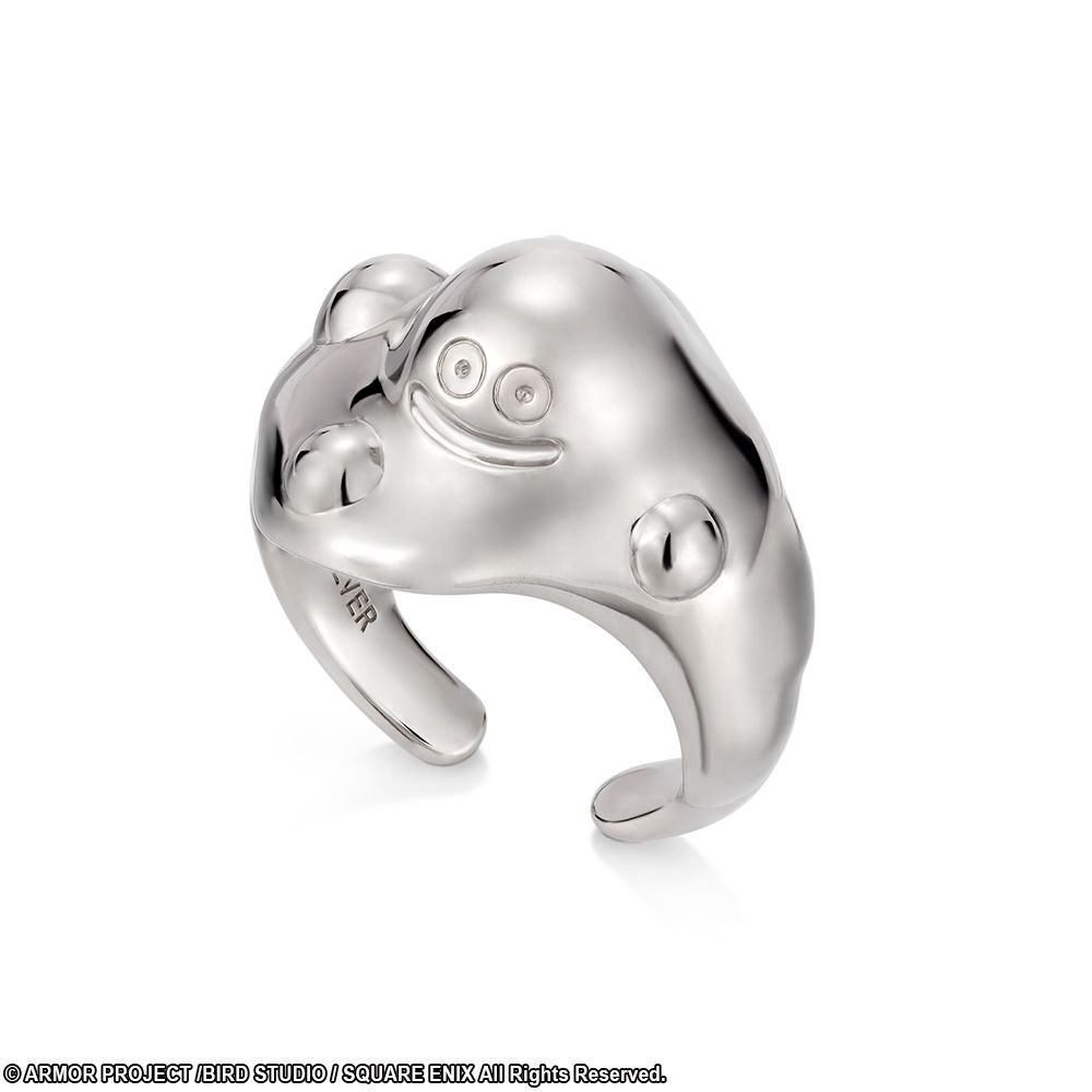 Dragon Quest Silver Ring Metal Slime Size 7 Jewelry Square Enix Store