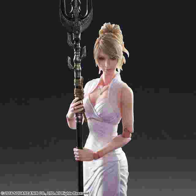 Capture d'écran du jeu FINAL FANTASY XV: PLAY ARTS KAI - Lunafreya Nox Fleuret