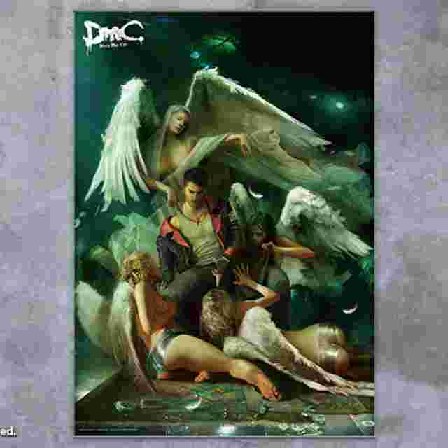 Screenshot for the game DEVIL MAY CRY [Wall Scroll Vol.2]