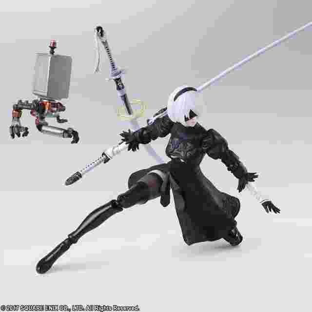 Screenshot for the game NieR: Automata™ BRING ARTS 2B (YoRHa No. 2 Type B) 2.0 [ACTION FIGURE]