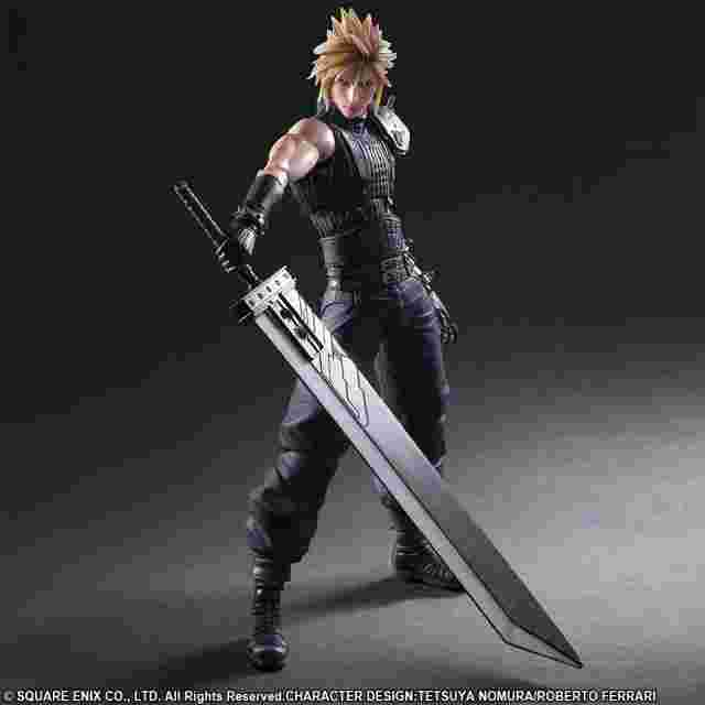 Screenshot for the game FINAL FANTASY VII REMAKE PLAY ARTS -KAI- No.1 CLOUD STRIFE