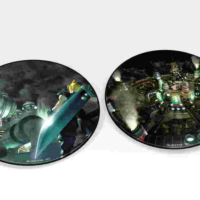 Capture d'écran du jeu FINAL FANTASY VII VINYL
