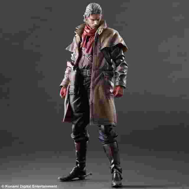 Screenshot for the game METAL GEAR SOLID V THE PHANTOM PAIN PLAY ARTS KAI [Ocelot]
