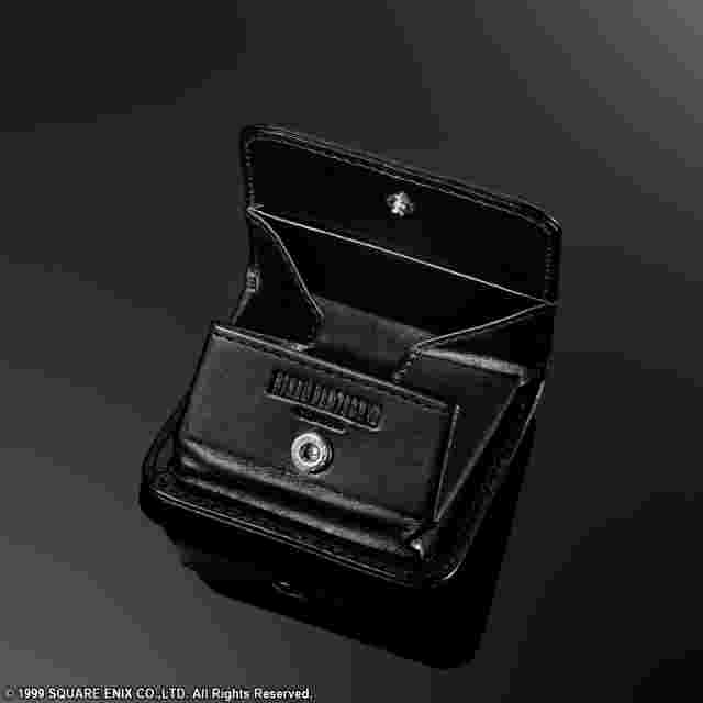 Captura de pantalla del juego FINAL FANTASY VIII Leather Coin Pouch - Sleeping Lionheart