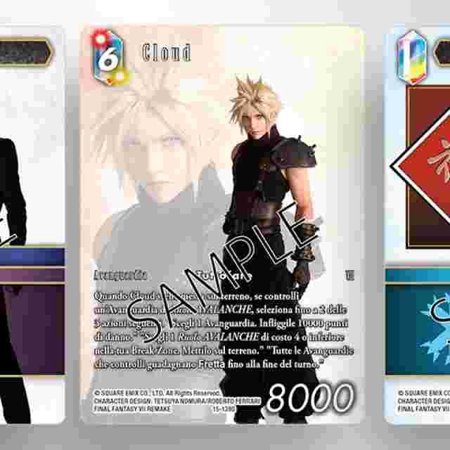 """Captura de pantalla del juego FINAL FANTASY TRADING CARD GAME: SET INIZIALE A DUE GIOCATORI """"AVALANCHE VS. SHINRA"""" [EDIZIONE ITALIANA]"""
