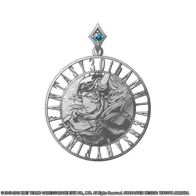 Screenshot for the game DISSIDIA FINAL FANTASY Silver Coin Pendant - WARRIOR OF LIGHT