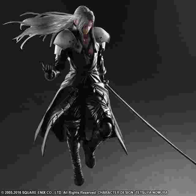 Captura de pantalla del juego FINAL FANTASY VII ADVENT CHILDREN PLAY ARTS KAI [SEPHIROTH]