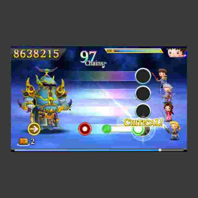 Screenshot des Spiels Theatrhythm Final Fantasy Curtain Call - Limited Edition [Nintendo 3DS]
