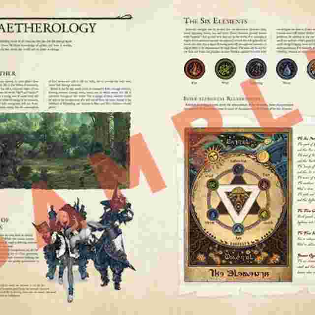 Screenshot for the game Encyclopaedia Eorzea - The World of FINAL FANTASY XIV - [Book]