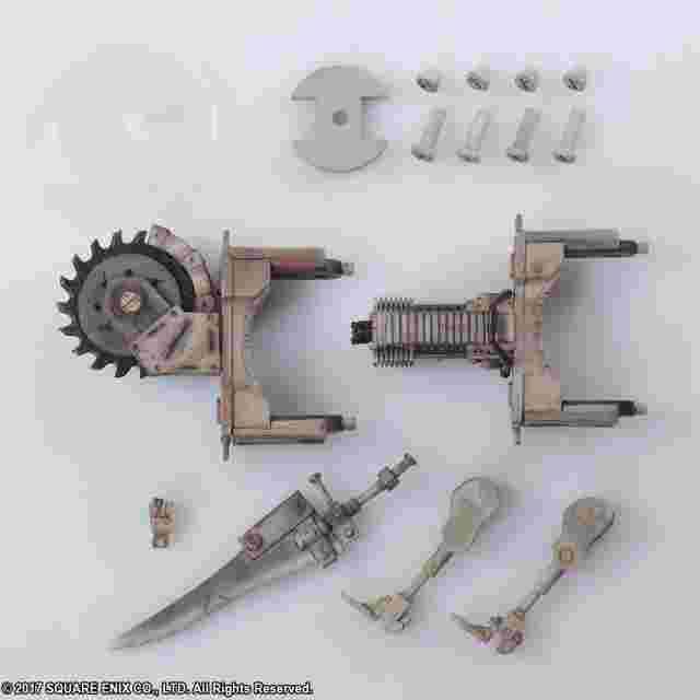 Captura de pantalla del juego NieR:Automata BRING ARTS Formes de vie mécaniques