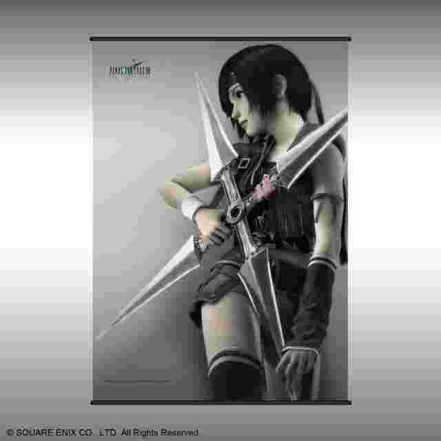 Screenshot for the game FINAL FANTASY VII Advent Children Wall Scroll - Yuffie Kisaragi (2019)