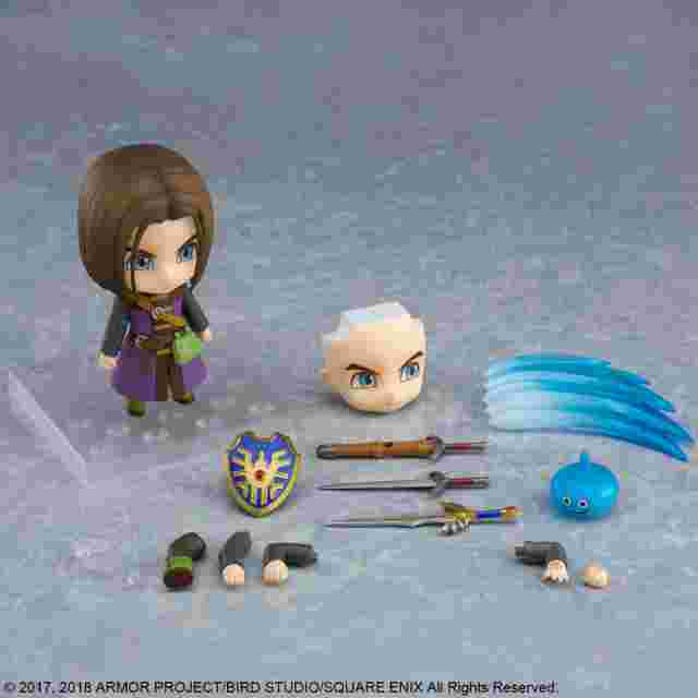 Capture d'écran du jeu DRAGON QUEST XI ECHOES OF AN ELUSIVE AGE NENDOROID THE LUMINARY