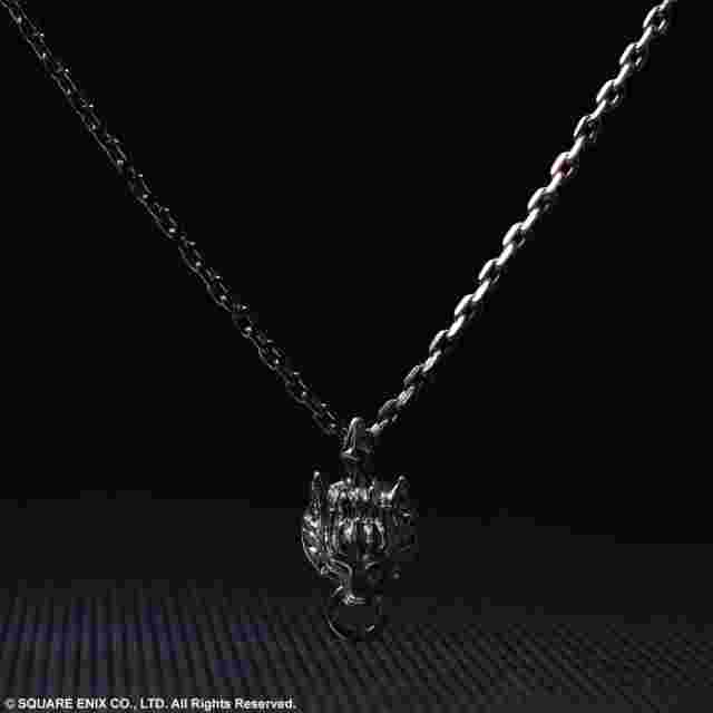 Screenshot for the game FINAL FANTASY® VII ADVENT CHILDREN SILVER PENDANT - CLOUDY WOLF [Jewelry]