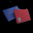 Azurite Blue and Ruby Red Slim Zweierpack