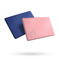 Azurite Blue and Rose Pink Slim 2-Pack