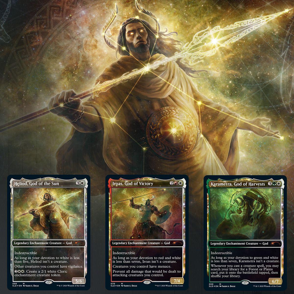 God of the Sun Theros Mythic Rare x1 English Mtg Heliod