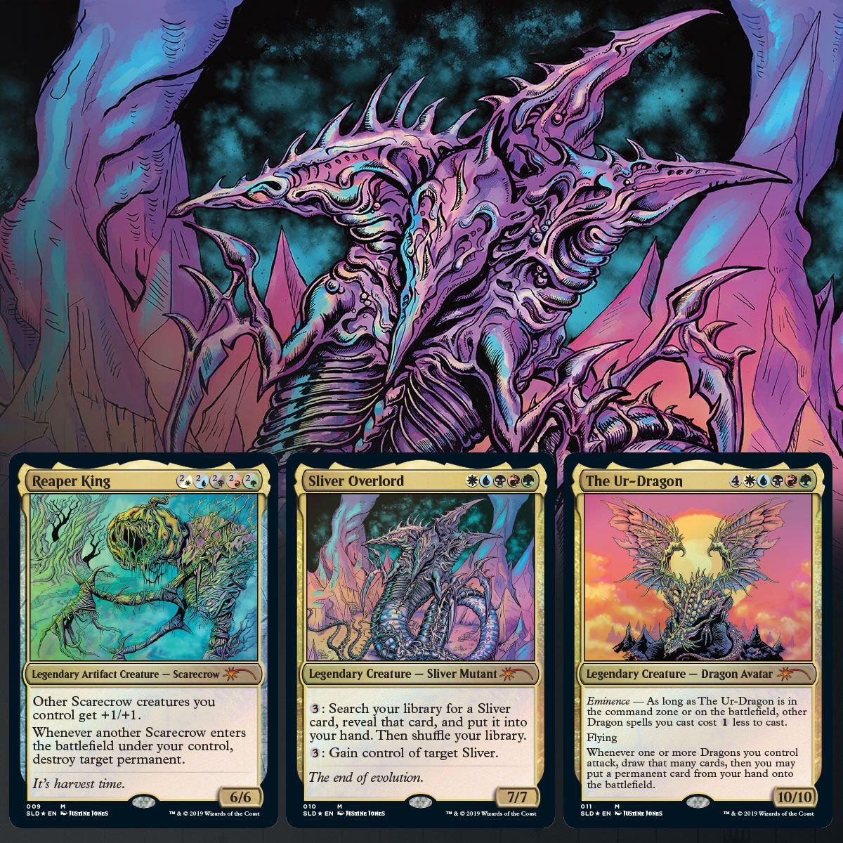 Bitterblossom Card Only Magic the Gathering. Secret Lair