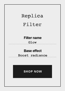 Replica Eau de Toilette - Filter Glow - Label