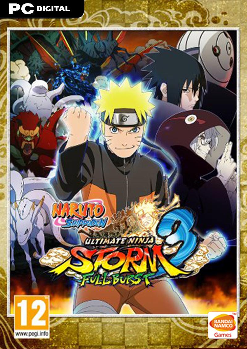 Naruto Ultimate Ninja Storm 3 Full Burst Pc Download Bandai