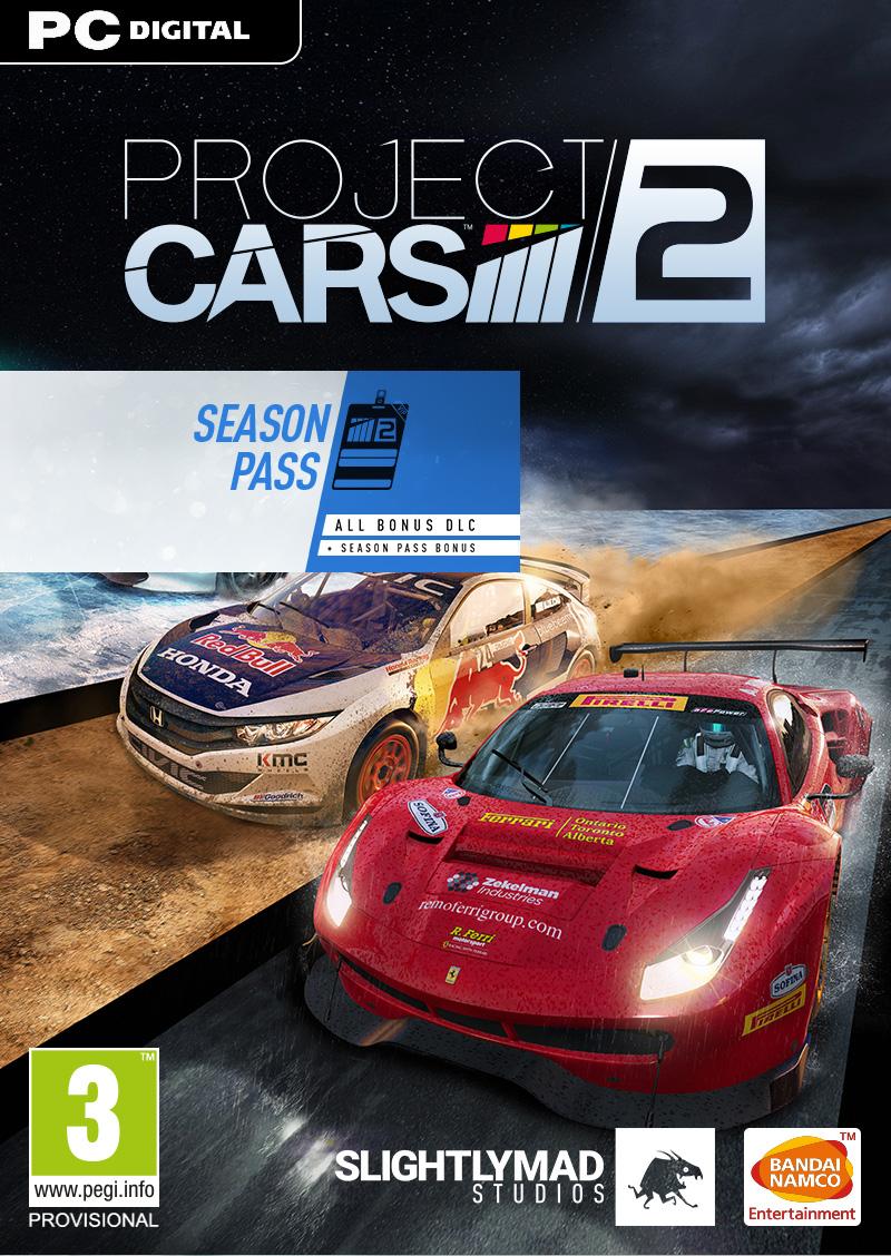PROJECT CARS 2 [PC Download] Season Pass | Bandai Namco Store Europe